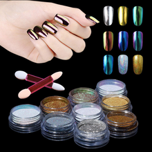 Metallic Effect Nail Powder pigment for car coating Chameleon Chrome Powder