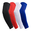 Fashion breathable sports elbow support brace warmers non-slip exercise friendly compression arm sleeve