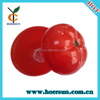 tomato shaped plastic box & food container