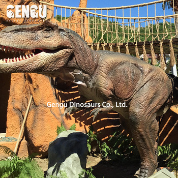 Lifelike Dinosaur Animatronic Dinosaur For Park Equipment