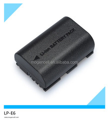 1800mah,battery for canon foreos 5d mark ii,Li-ion LP-E6 Battery Pack for Canon