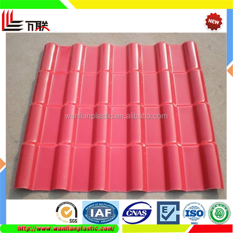 New Synthetic Villa Span Plastic Roofing Tile