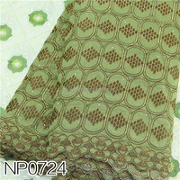 A large number of inventory and very cheap army swiss voile NP0724