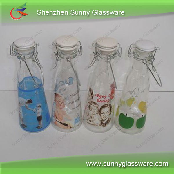 Hot Sales Trade Assurance Glass Juice Bottles