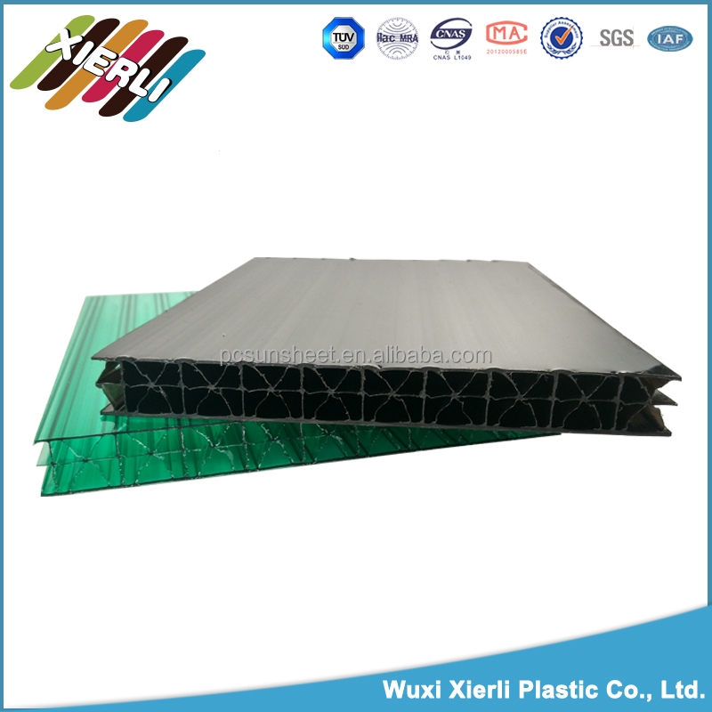 fast installation X structure pc roofing pvc foam sheet