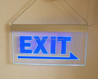 illuminated EXIT sign/led EXIT sign/acrylic Emergency exit signs
