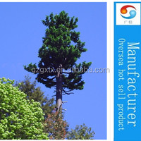 Outdoor pine tree for decoration/camouflaged pine tree tower for hiding antenna