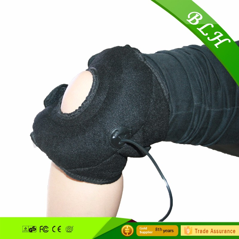2016 hot sell electric Hottable electric heating knee massager belt LCH-10056