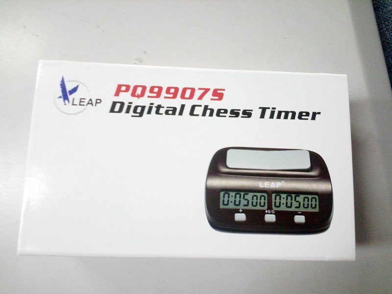 New Universal chess clock with Bonus and delay PQ9907S