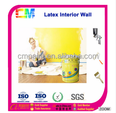 Economic water-based latex interiror wall paint mould resistant for wall coating