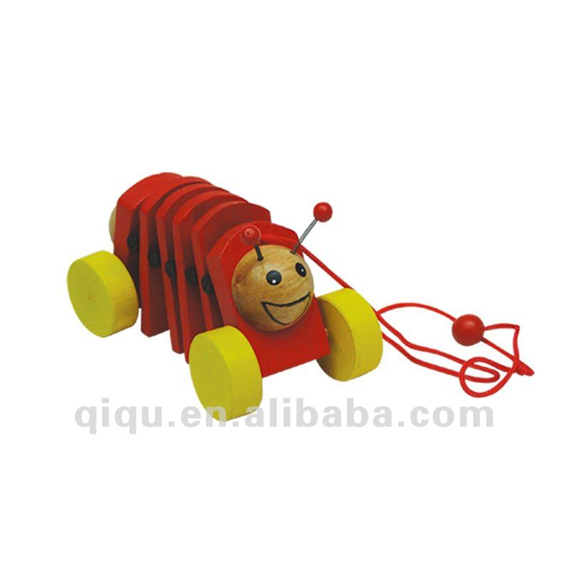 Wooden Toys Red Flying Insect toy