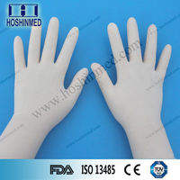 Disposable medical powdered or powder free PVC gloves vinyl gloves