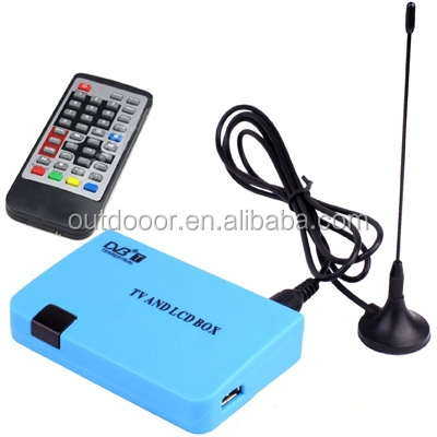 China Wholesale cheap Stand-alone DVB-T Receiver TV / LCD Box