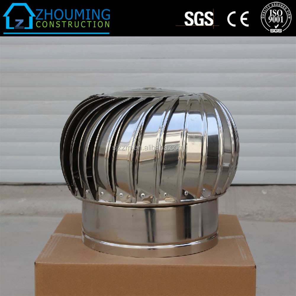 Free samples worldwide free running cost roof ventilator/ventilator fan non electric