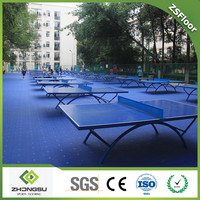 Sports Flooring,Indoor Flooring,Safe Table Tennis Court Flooring