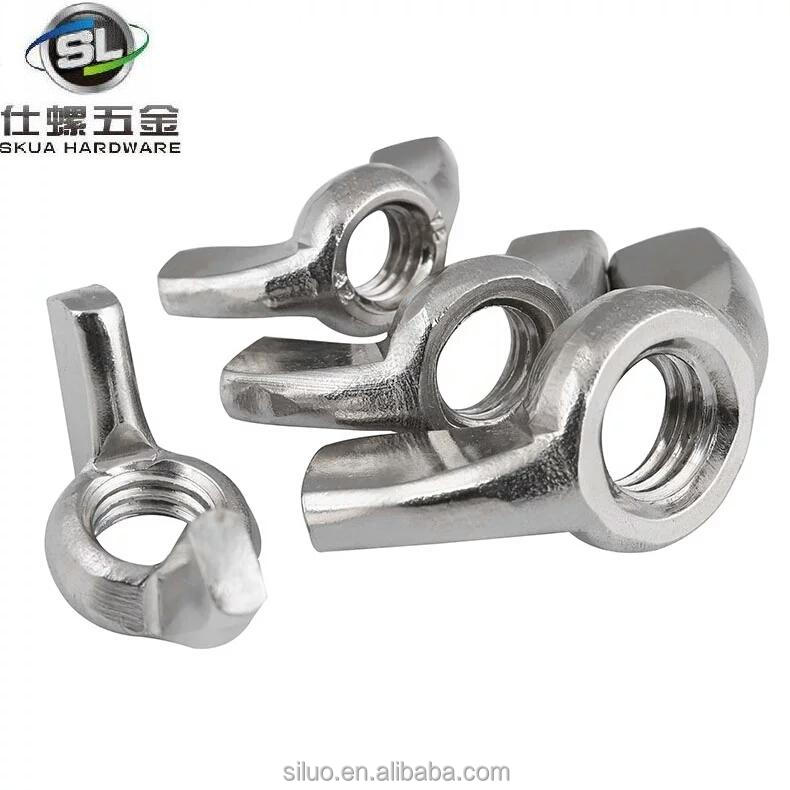 High quality standard size type of wing nut with competitive price