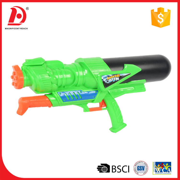 Green super shooter high power water gun blaster toy