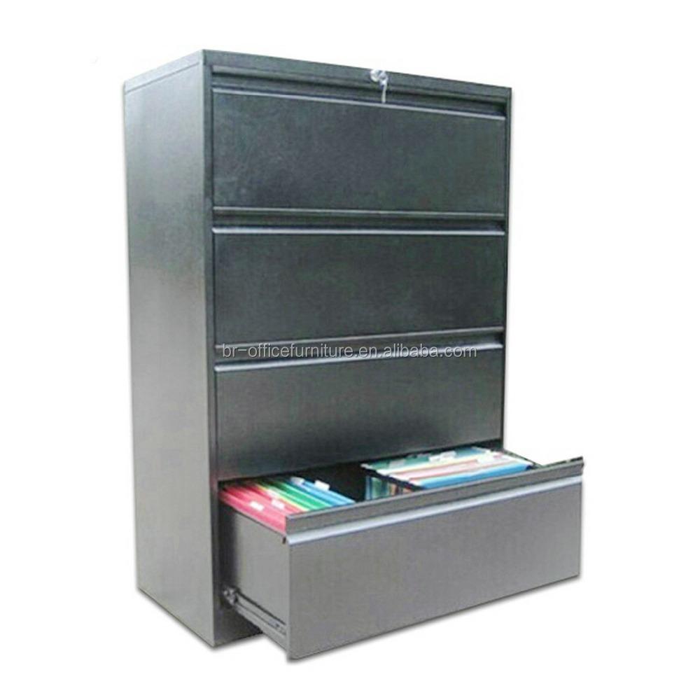 eas 003 4d modern cheap office steel 4 drawer filing storage cupboard iron file cabinet