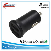 Factory price high quality CE RoHS FCC 5v 4.8a usb car charger