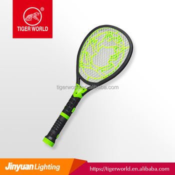 Tiger World Rechargeable LED Flashlight Mosquito Swatter Bat