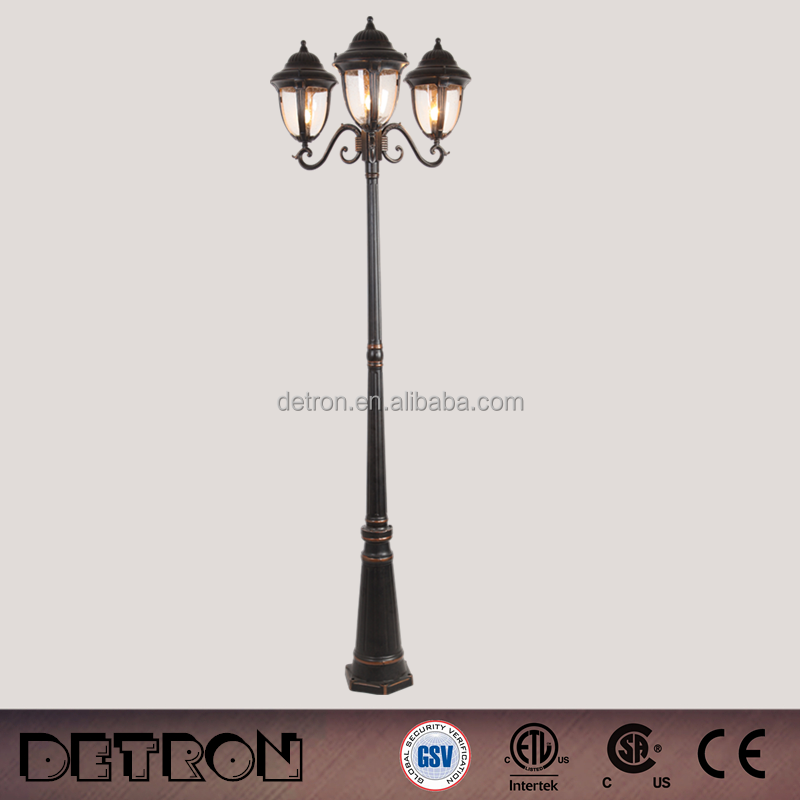 Garden Street Cast Iron Lighting Pole,Outdoor Solar Street lights