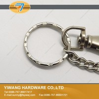 hot selling popular metal silicon keychain wholesale