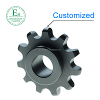 Engineering plastics injection mold PA6 nylon plastic chain wheel sprocket