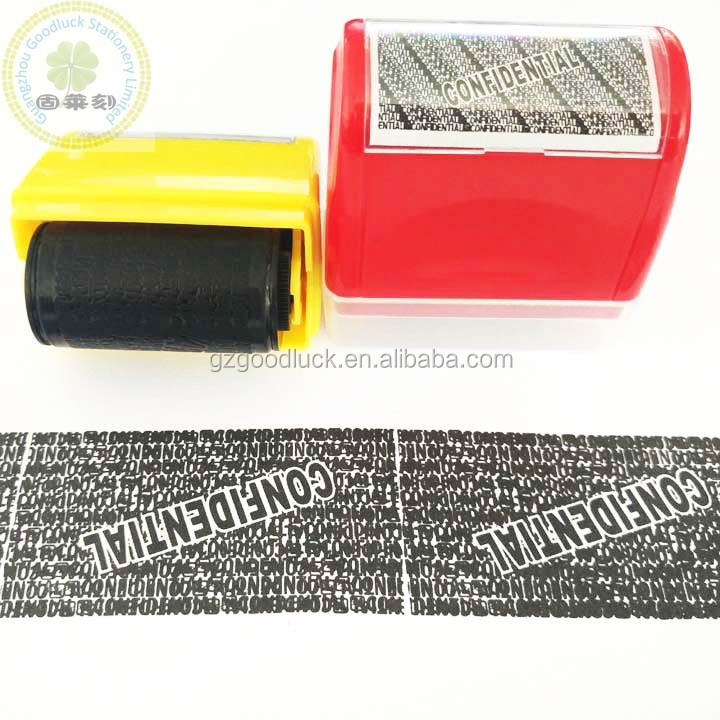 Goodluck Stationery Supplying ID Guard Roller/Rubber ID guard Roller inked stamps