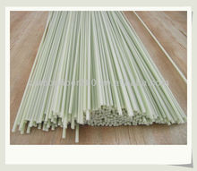 High quality fiberglass rod, color per color swatch, size from 0.5mm to 51mm