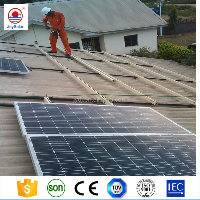 Solar power system with solar panel / battery / inverter / controller