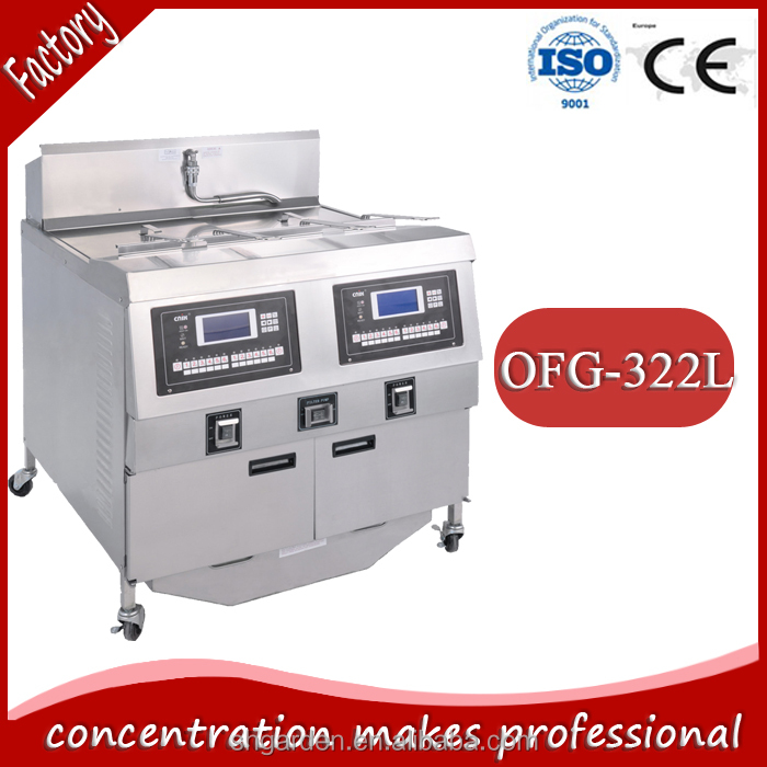 lpg fryer/donut/food factory machine