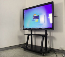 55inch Interactive Digital Signage display with 10points touch and windows 8 supported