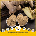 Yellow color air dried ginger powder China origin