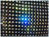 Hot fix crystal rhinestone crown embellishments with white base black base.single row,18 rows,24rows