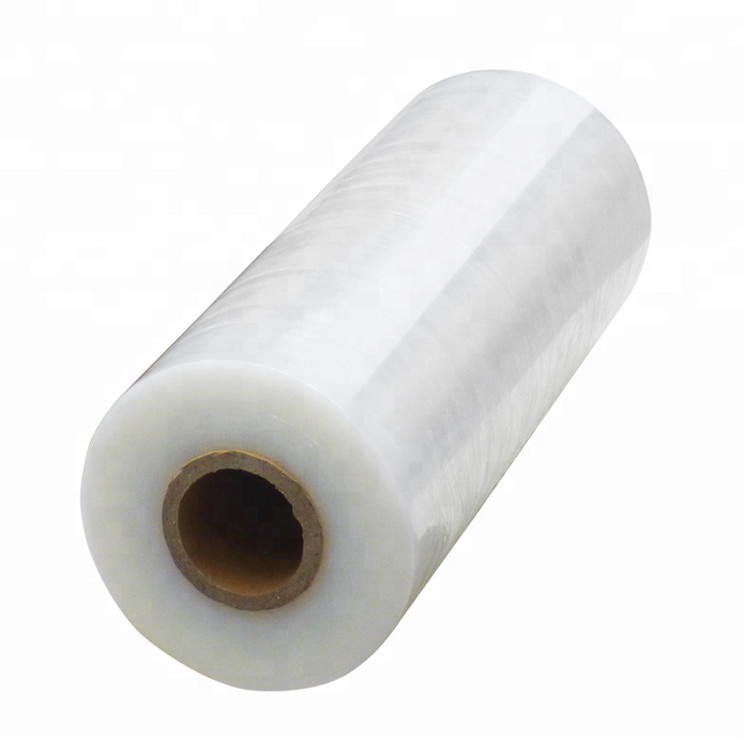 5 inch*80 Gauge*1000 ft lldpe PE stretch <strong>film</strong> mini stretch wrapping <strong>film</strong> with handle