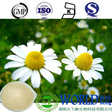 pure nature Wild Camonile extract 1.2% 98% Apigenin german chamomile extract powder Chamomilla Recutita extract