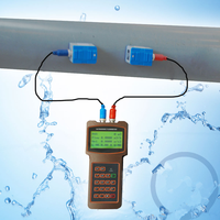 Chemical liquid handheld Ultrasonic flow meter or ultrasonic sensor