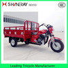 Best New 200cc Hot Sale Cargo Three Wheel Motorcycle shineray tricycle in 2016