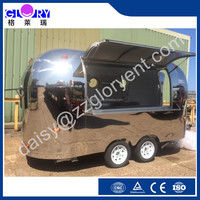 crepe food truck for sale, new sale truck fast food, stainless steel food truck