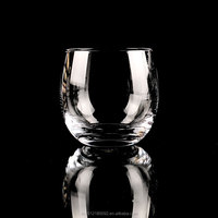Handmade lead-free crystal cup Stemless party glasses wine cups
