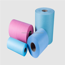 high quality low factory price OEM/ODM colorful industrial wash cloth raw material spunlace non woven fabric rolls