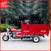 200CC Water Cooling Strong Durable Street Cleaner Slef-Dumping Motor Tricycle