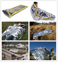 Brand new aluminum foil safety emergency blanket for wholesales