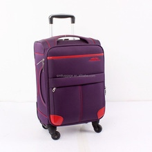 Swiss Polo Nylon Collapsible Trolley Luggage Set