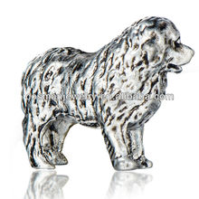 Lovely alloy dog arts and craft