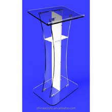 customized new luxury plexiglass church podiums for sale / church pulpits