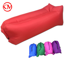 cheap camping laybag lazy sofa sleeping bag portable air sofa