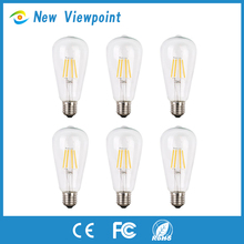 Incandescent led light bulb with clear glass spare parts