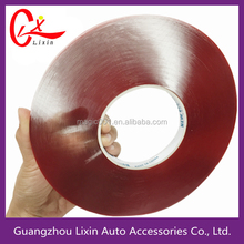0.8mm thickness double sided tape silicone adhesive