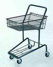 Russia style wire wholesale zinc plated strong material 2-ter disable shopping cart HSX-1094